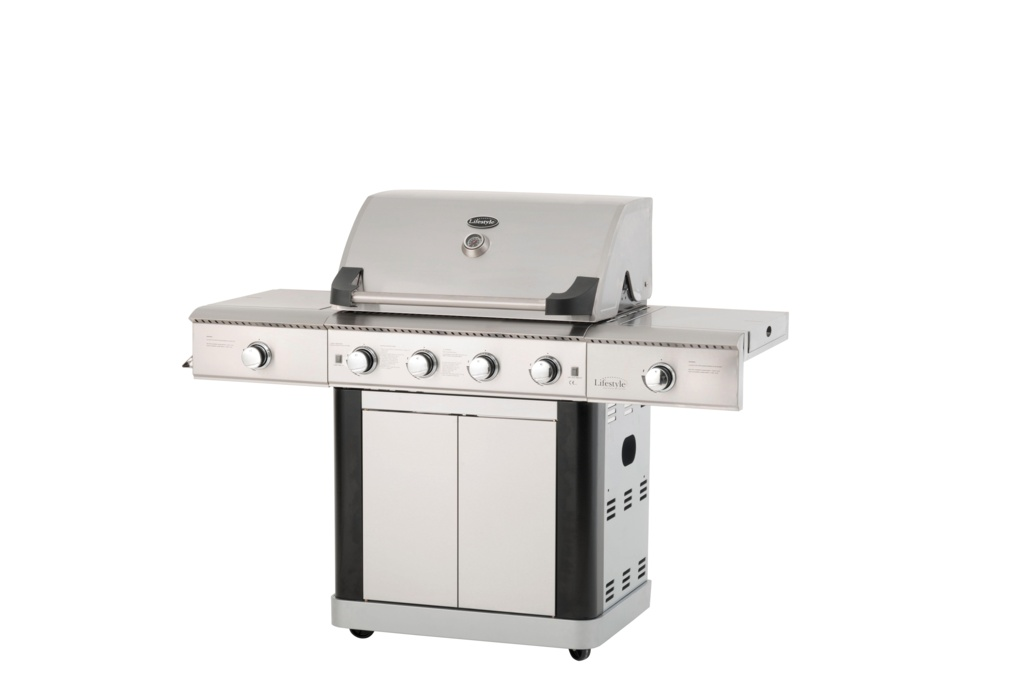 Lifestyle St Lucia Gas Barbecue - Stainless Steel