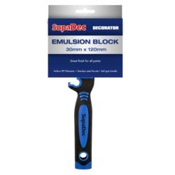 SupaDec Emulsion Block Brush