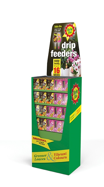 Baby Bio 100 Mixed Drip Feeder Display