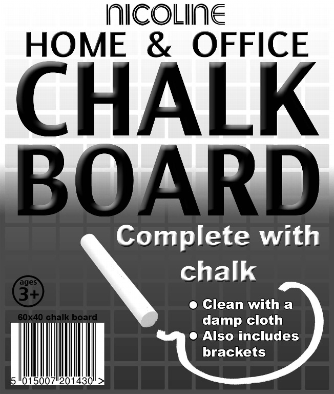 Nicoline Chalk Board - 60cm x 40cm