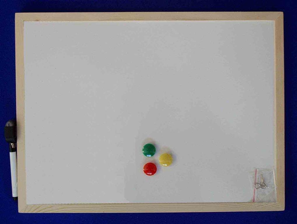 Nicoline Magnetic Dry Wipe Board - 60 x 90cm