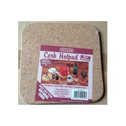 Nicoline Natural Square Cork Hotpads