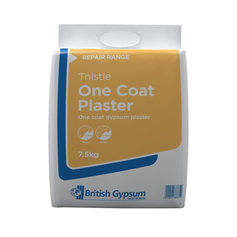 Artex Thistle One Coat Plaster - 7.5kg