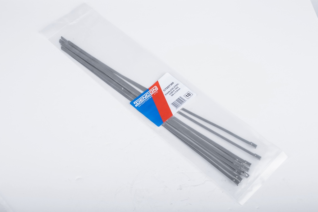 Lyvia Stainless Steel Cable Tie - 7.9mm Pack 10
