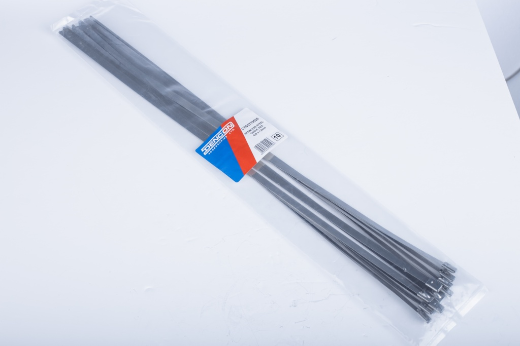 Lyvia Stainless Steel Cable Tie - 4.6mm Pack 10