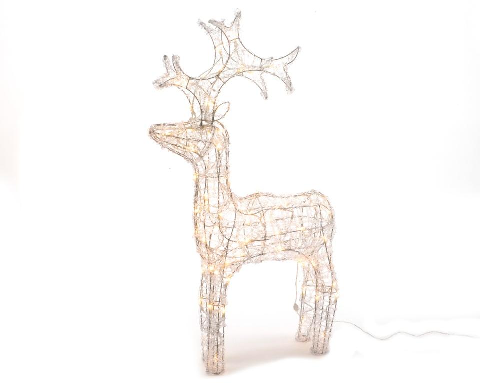 Kaemingk Outdoor LED Acrylic Deer - 60cm Warm White
