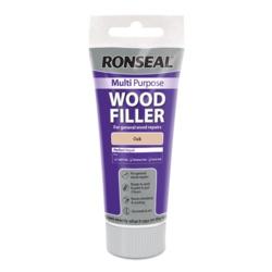 Ronseal Multi Purpose Wood Filler 100g Oak