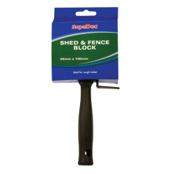 SupaDec Shed & Fence Block Brush