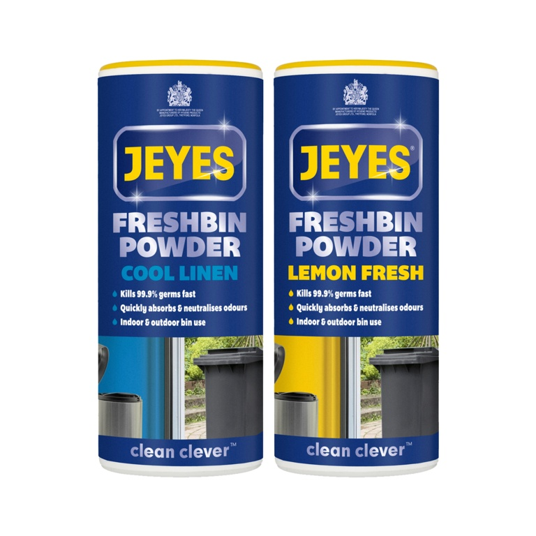 Jeyes Freshbin Powder 550g - Cool Linen
