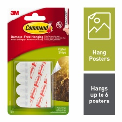 Command Poster Strips x12 17024