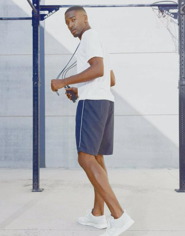 Prestige Gents Shorts Navy/White - 2XL