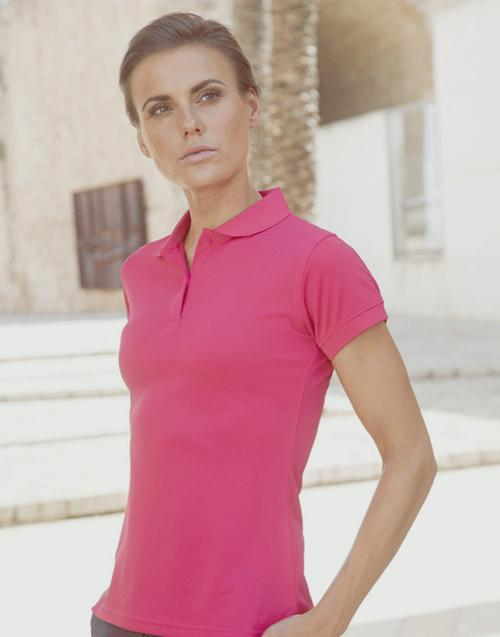 Prestige Ladies Henbury Polo Navy - Med