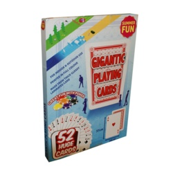 Summer Fun Giant Playing Cards