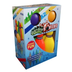 Summer Fun Plastic Bowling Set