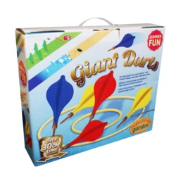 Summer Fun Giant Darts Garden Game