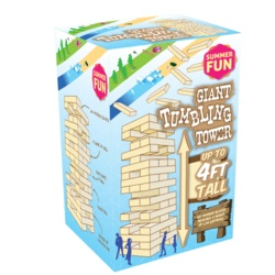 Summer Fun Giant Tumbling Tower