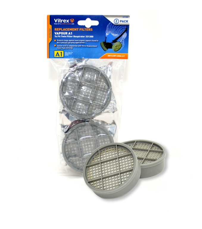 Vitrex Replacement Filters Pair - A1