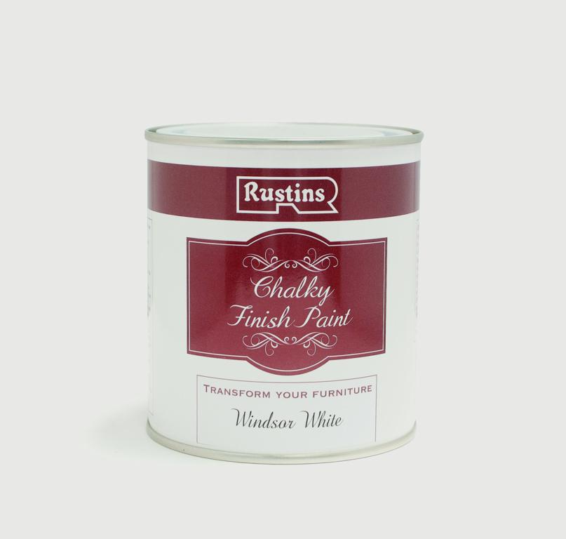 Rustins Chalky Finish 250ml - Windsor White
