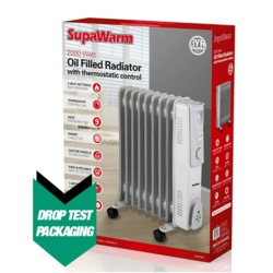 SupaWarm Oil Filled Radiator 2000w