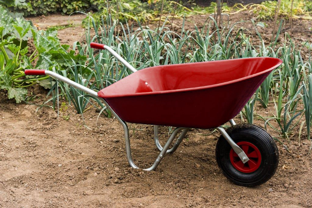 Ambassador Boxed Wheelbarrow 85L - Red