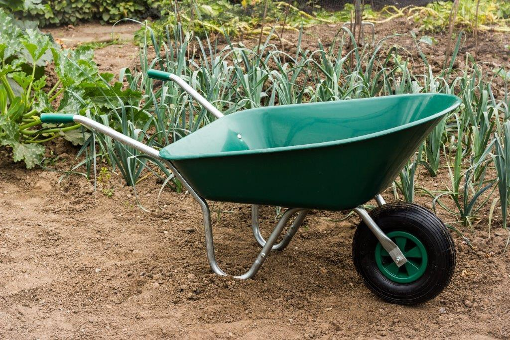 Ambassador Boxed Wheelbarrow 85L - Green