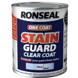 Ronseal One Coat Stain Guard Clear Coat
