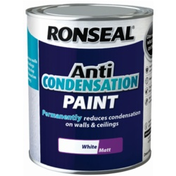 Ronseal Anti Condensation Paint White 750ml