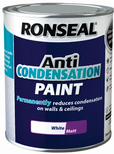 Ronseal Anti Condensation Paint White Stax Trade Centres