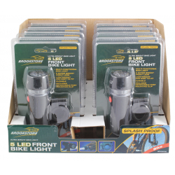 Brookstone Front Bike Light In CDU