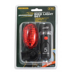 Brookstone Bike Light Set
