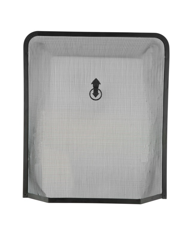 Hearth & Home Black Spark Guard - 24x21""