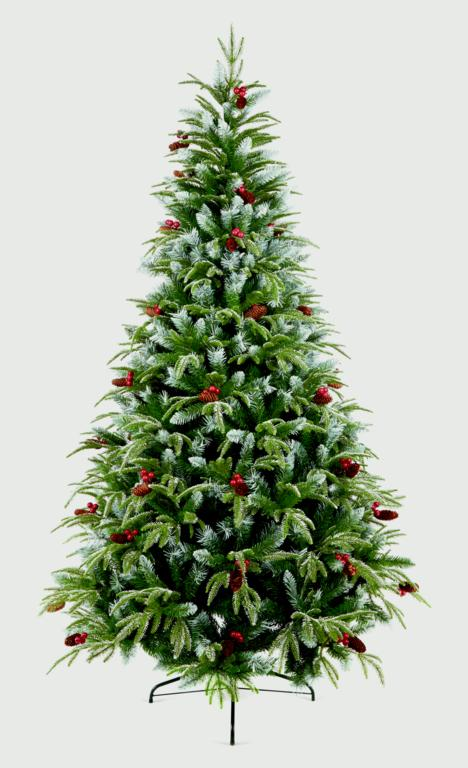 Premier Frosted Spruce Tree - 2.1m