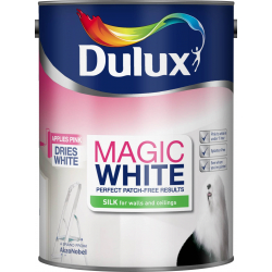 Dulux Magic White Silk 5L