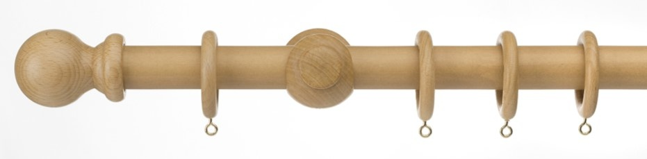 Universal Wood Pole Kit Natural - 300cm