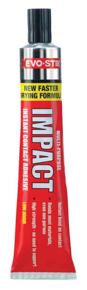 Evo-Stik Impact Adhesive Tube - 30g Blister Pack