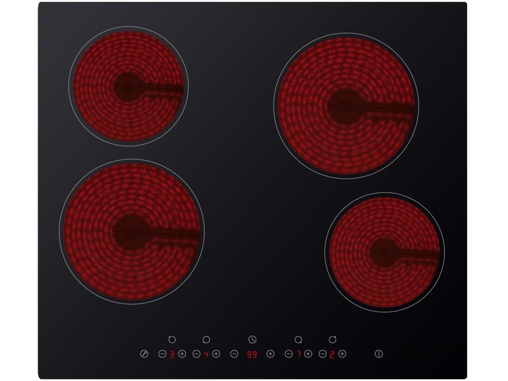 Kitchenplus 4 Zone Ceramic Hob - Touch Control - 600mm