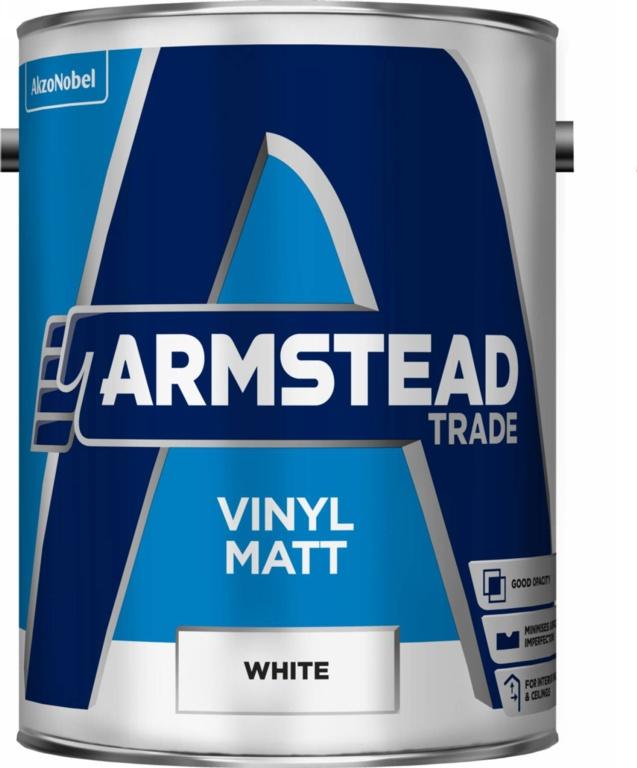 Armstead Trade Vinyl Matt 5L - White