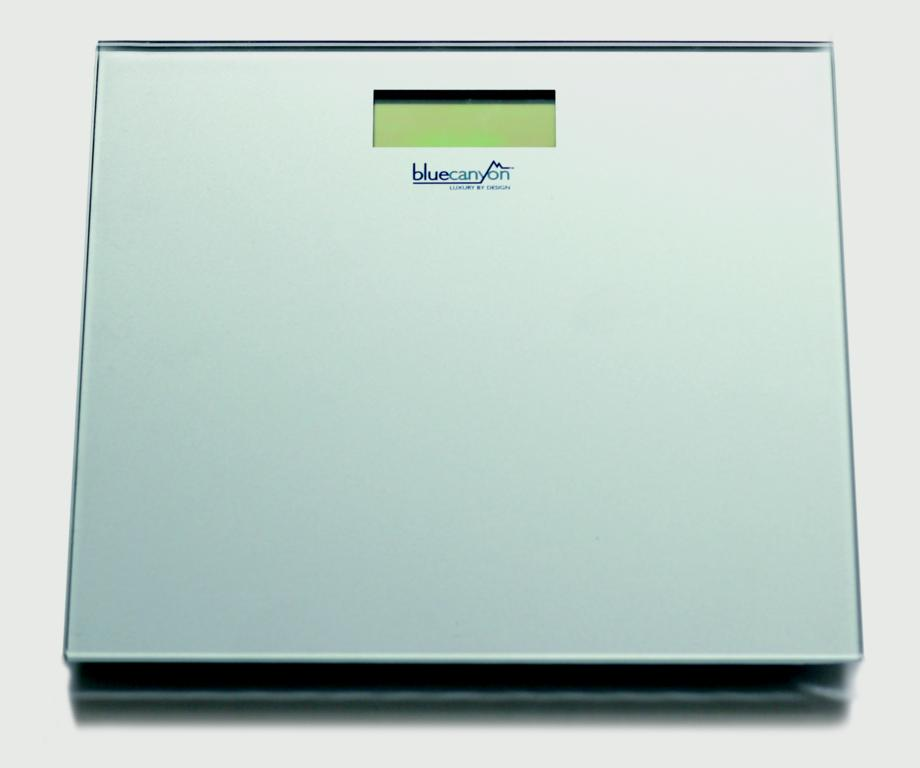 Blue Canyon S Series Digital Bathroom Scales - Silver