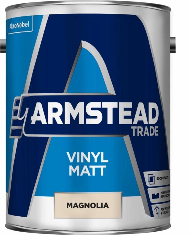 Armstead Trade Vinyl Matt 5L - Magnolia