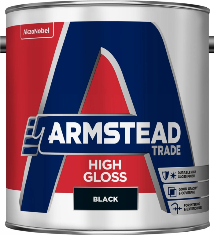 Armstead Trade High Gloss 2.5L - Black