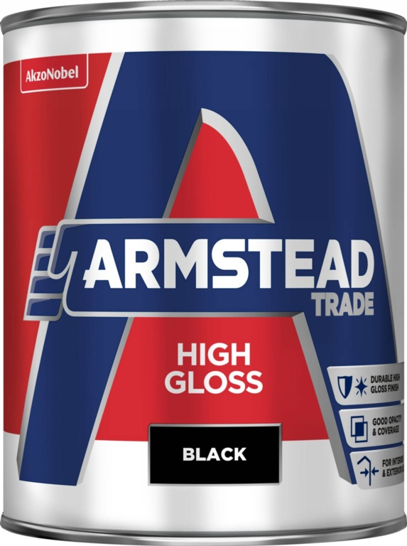 Armstead Trade High Gloss 1L - Black