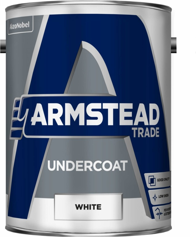 Armstead Trade Undercoat 5L - White