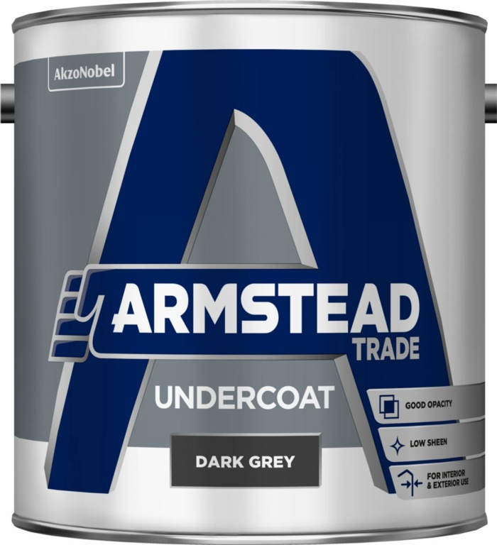 Armstead Trade Undercoat 2.5L - Dark Grey