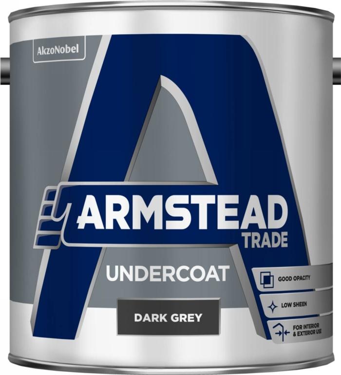 Armstead Trade Undercoat 2.5L - Dark Grey