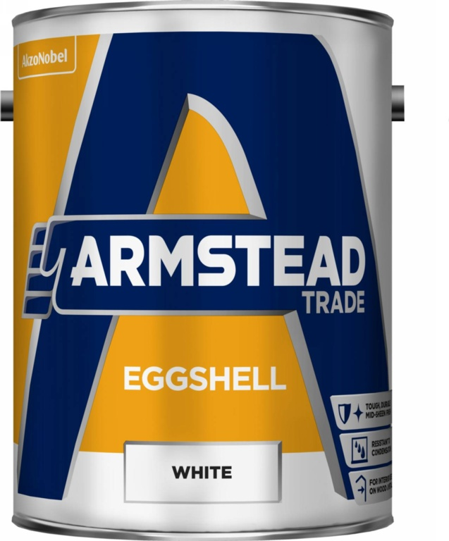 Armstead Trade Eggshell 5L - White