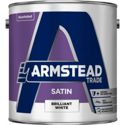Armstead Trade Satin Brilliant White