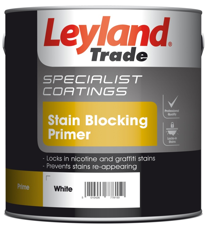 Leyland Trade Stain Blocking Primer 2.5L - White