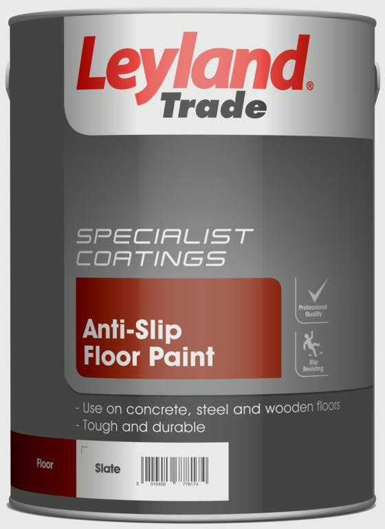 Leyland Trade Anti Slip Floor Paint 5l Stax Trade Centres