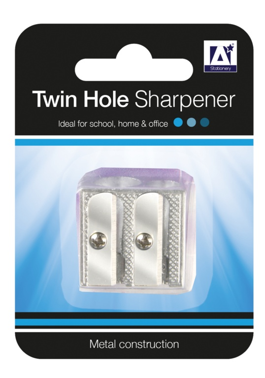 A Star Twin Hole Sharpener