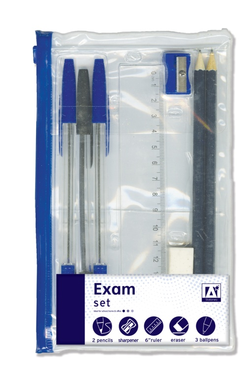 A Star Clear Filled Exam Set
